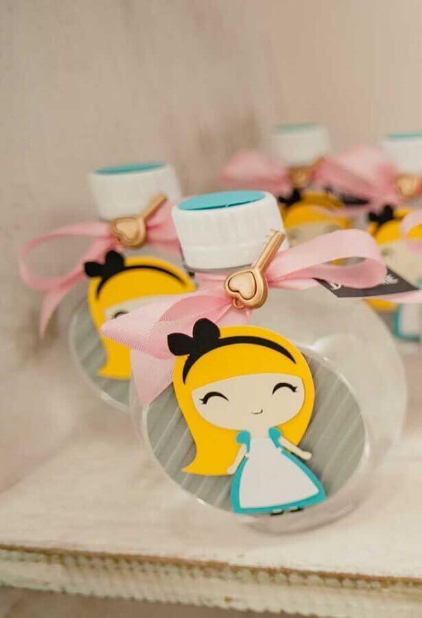 souvenirs for Alice in Wonderland children's party Photo Pinterest