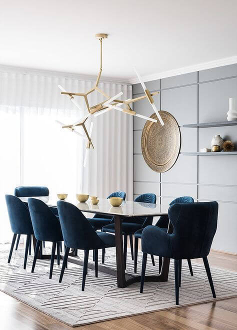 Aposte nos lustres modernos para decorar sua sala de estar