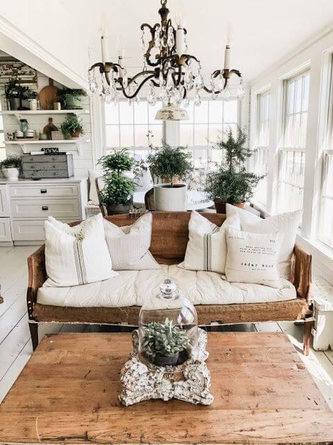 Lustre candelabro para sala de estar
