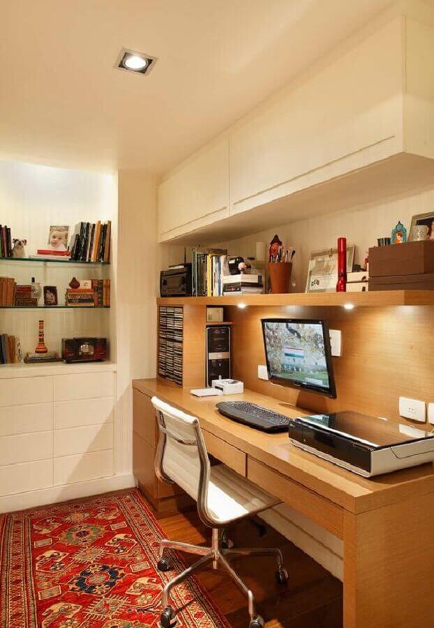 móveis planejados para escritório em casa Foto Dicas de Mulher