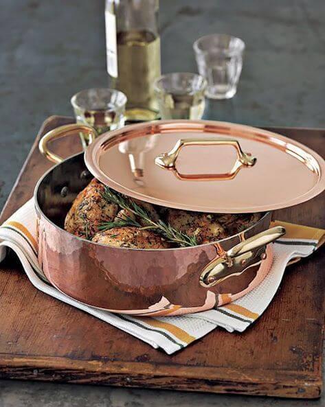 Que tal comprar as melhores panelas de cobre?
