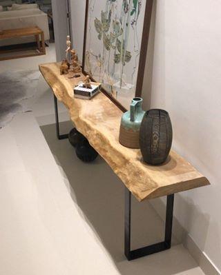 Aparador de madeira rústica para sala de jantar