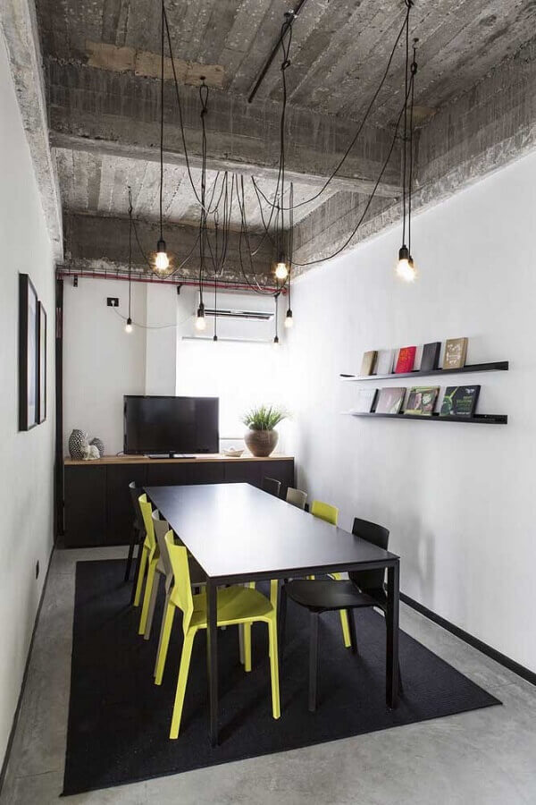 mesa de reunião para escritório Foto Futurist Architecture