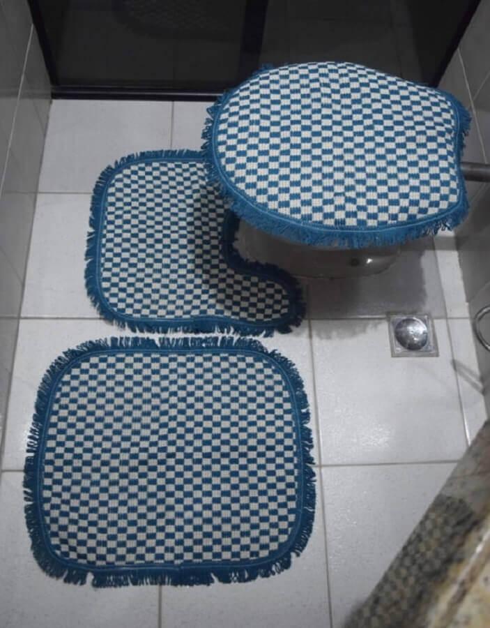 modelo de jogo de banheiro simples Foto Ponto da Arte