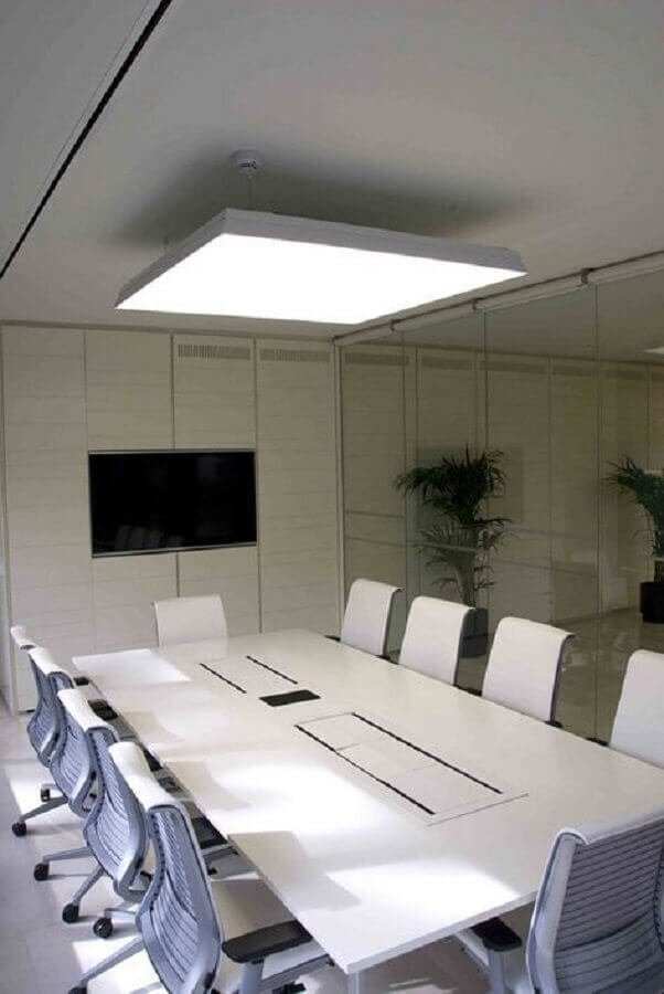 modelo de mesa de reunião escritório Foto Diário Design