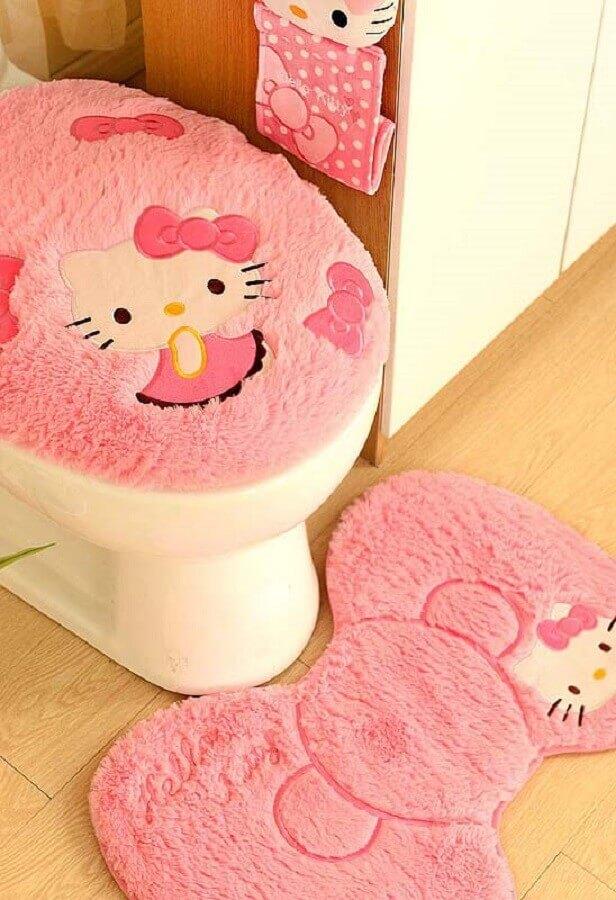 modelo divertido de jogo de banheiro da Hello Kitty Foto Pinterest