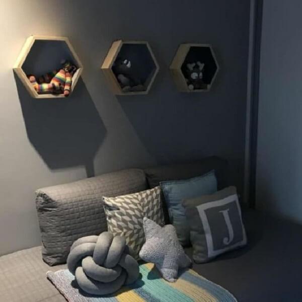 nicho colmeia quarto