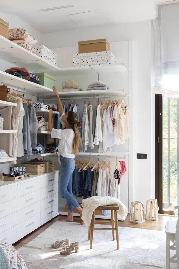 Coisas para fazer na quarentena: organizar os armários