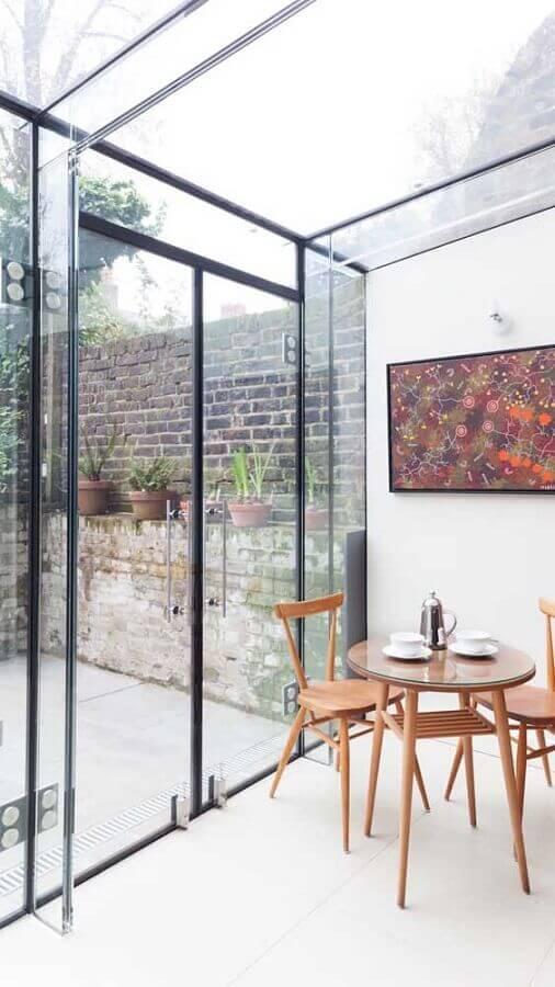 porta francesa de alumínio e vidro Foto Pinterest