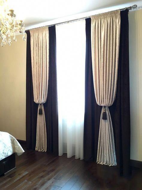 Prendedor de cortina clássica para quarto