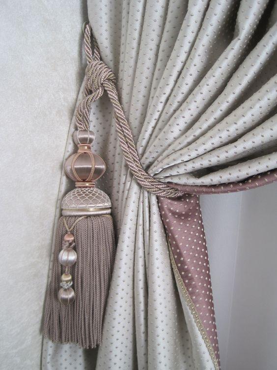Prendedor de cortina clássico