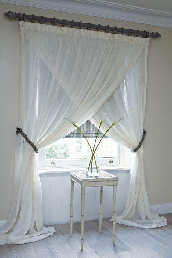 Prendedor de cortina clean