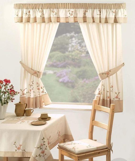 Prendedor de cortina simples de tecido