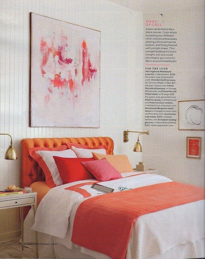 quadro abstrato para decoração de quarto feminino Foto CoachDecor