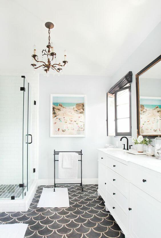 Quadros para banheiro clean