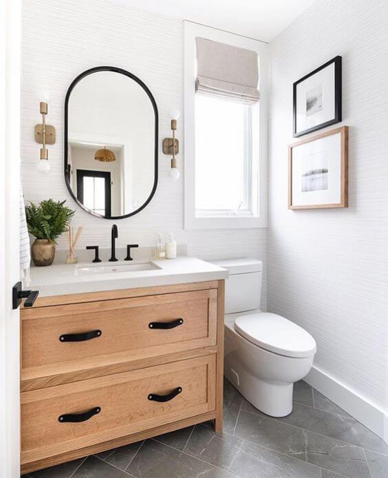 Quadros para banheiro clean e moderno