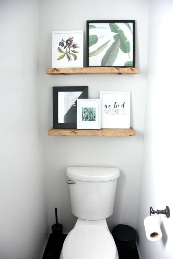 Quadros para banheiro com frase
