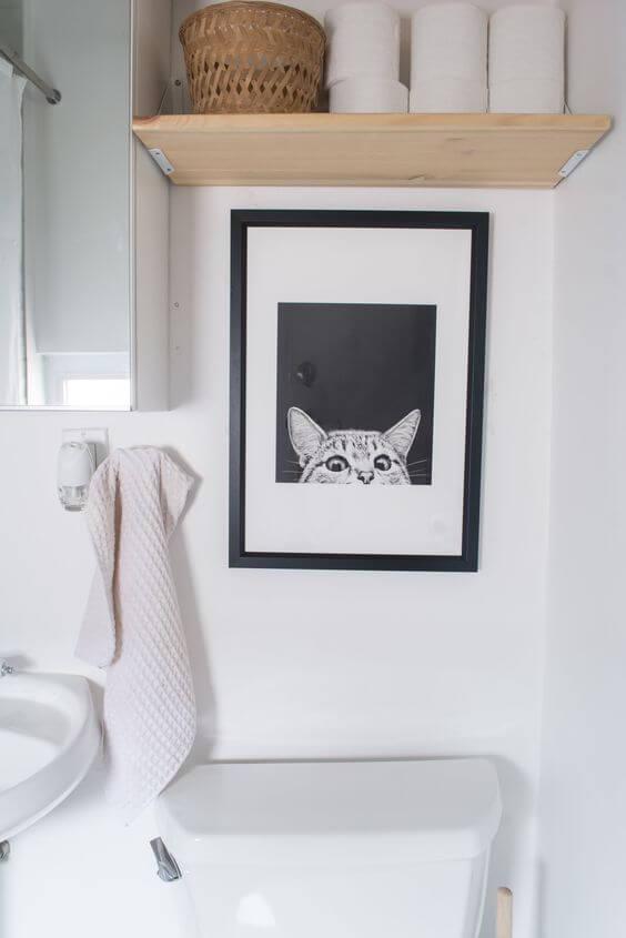 Quadros divertidos para banheiro