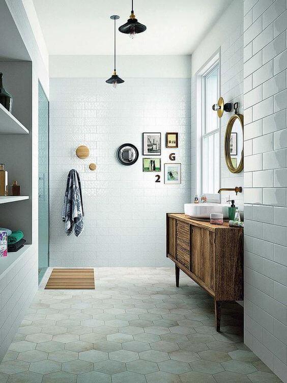 Mini quadros decorativos para banheiro