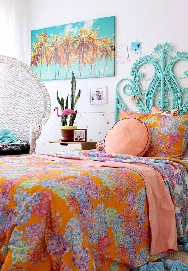 quarto de menina decorado colorido Foto PostDecor