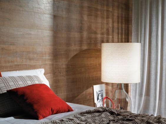 Revestimento cerâmica para quarto