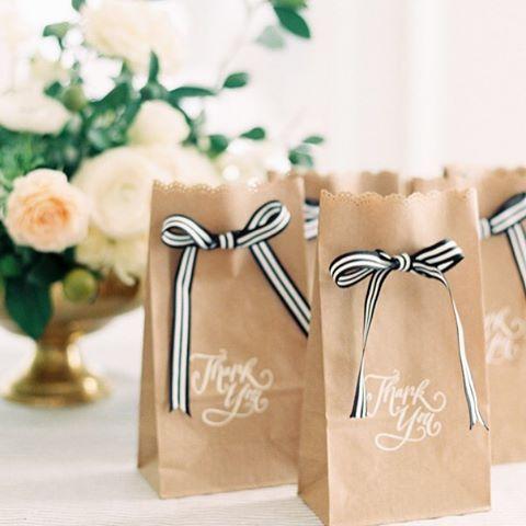 Saquinho surpresa para festa de casamento e noivado