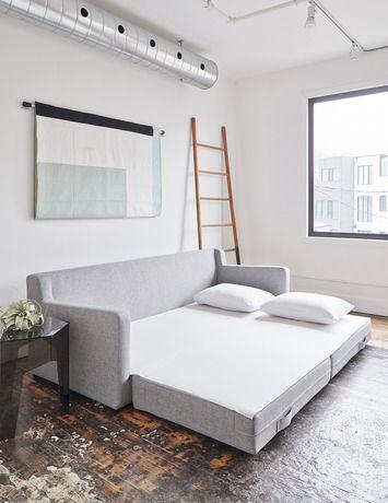 Sofá cama retrátil para sala de estar