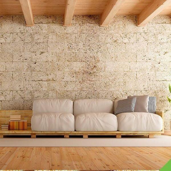 Veja como fazer sofá de palete