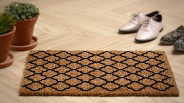 tapete capacho estampado