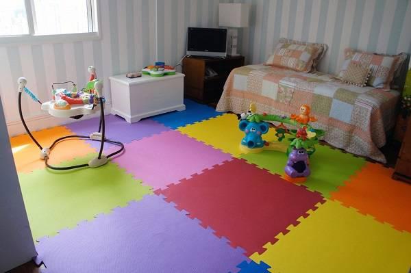 tapete infantil almofadado