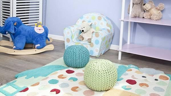 tapete infantil colorido