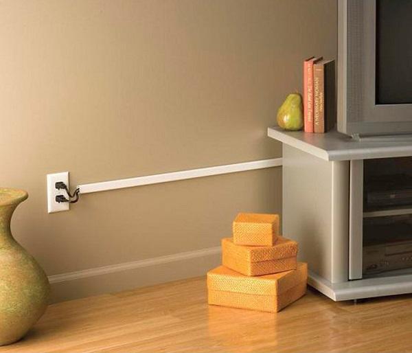 Como esconder fios na parede com canaletas