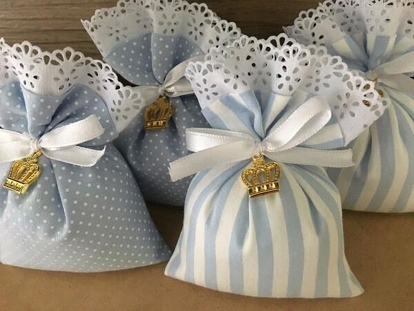 Delicate scented sachet model for maternity souvenir