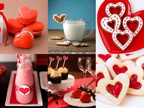 Os corações devem estar por toda a parte no quarto decorado dia dos namorados