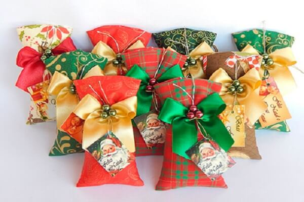 I presented their family and friends with a beautiful scented Christmas sachet