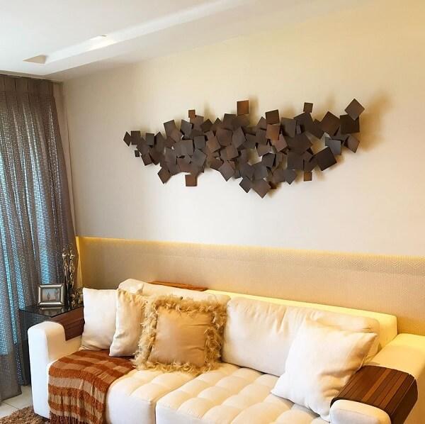 Traga um toque diferenciado para a decoração da sala de estar