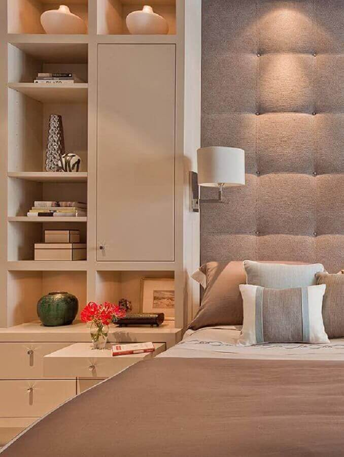 abajur para quarto de casal moderno Foto Futurist Architecture