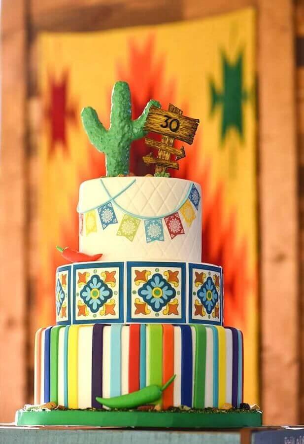 bolo festa mexicana Foto Tutus para Fiestas