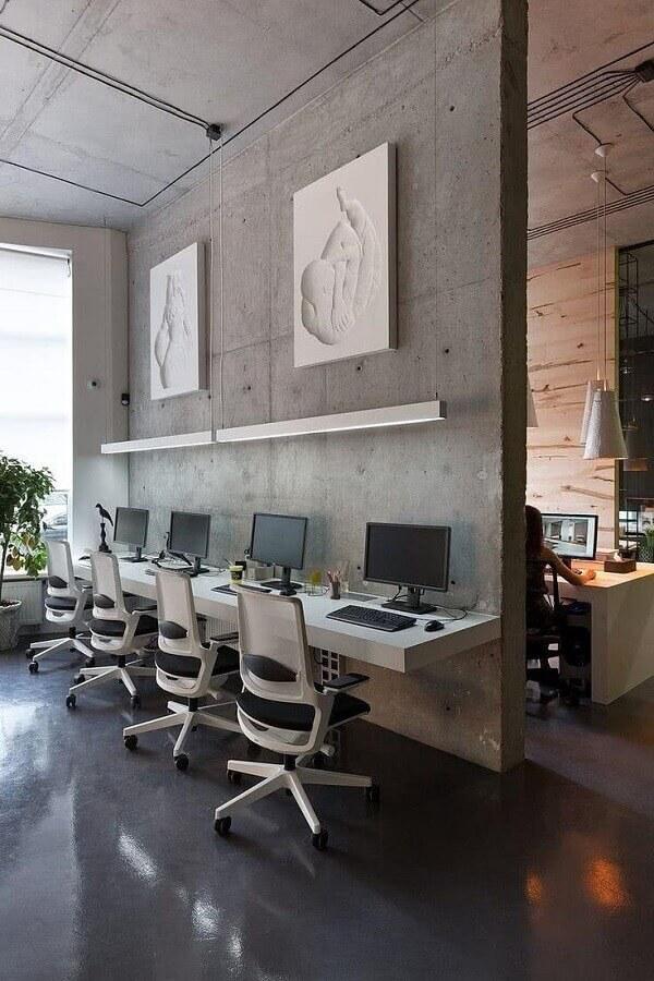 cadeira de escritório ergonômica com design moderno Foto Behance