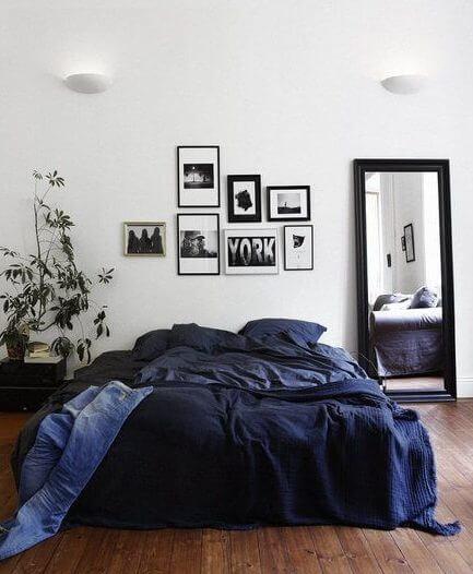 Quarto com cama box casal