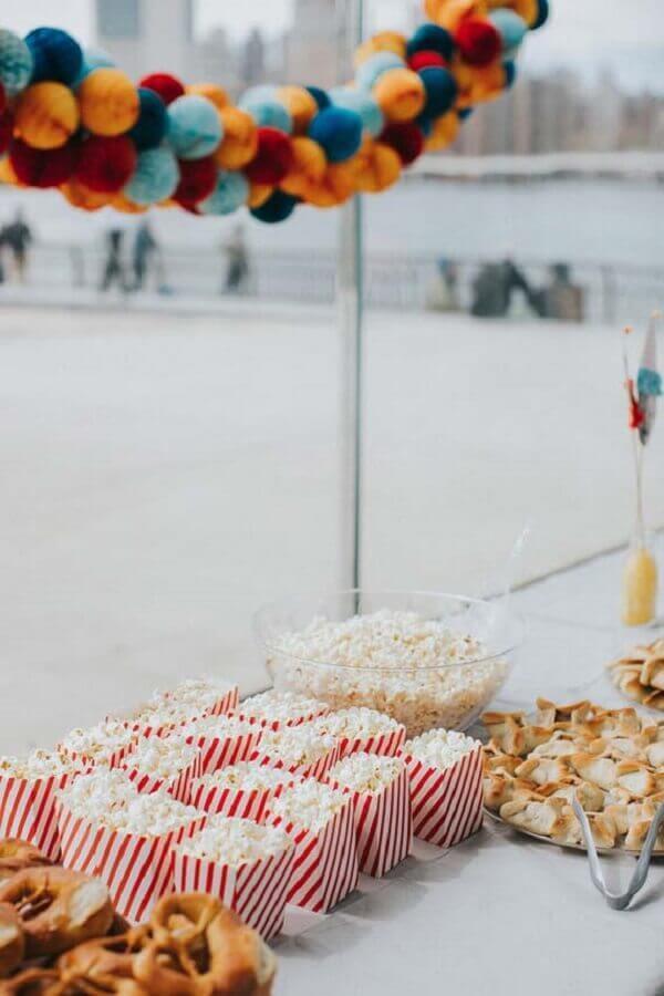 cardápio festa infantil simples Foto Pinterest