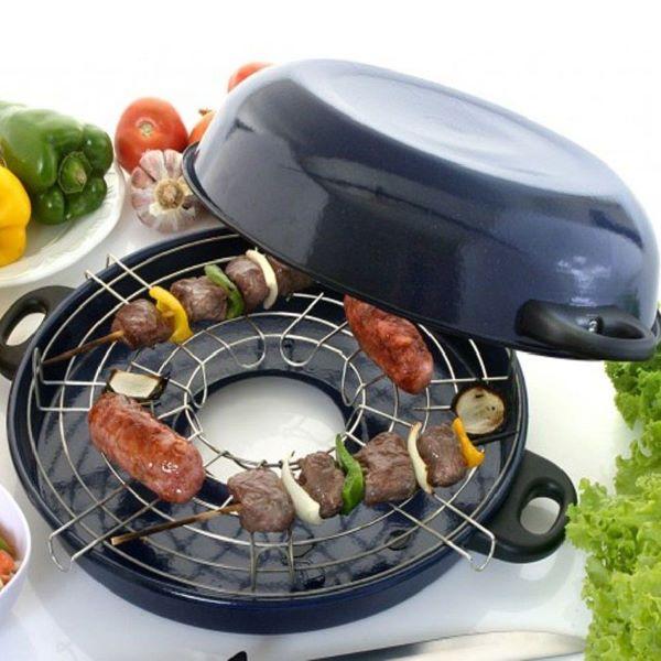 Churrasqueira de fogão prática para o dia a dia