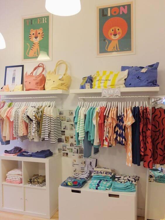closet modulado infantil