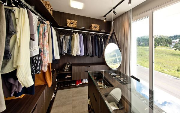 Closet integrado a suite