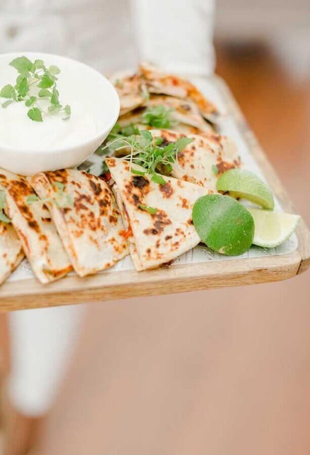comidas para festa mexicana Foto Pinterest