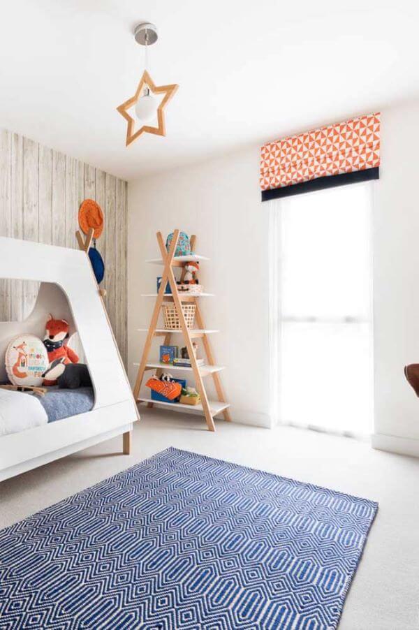 Persiana no quarto infantil