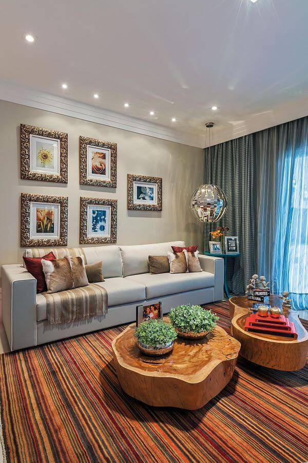 Cortina para sala de estar moderna