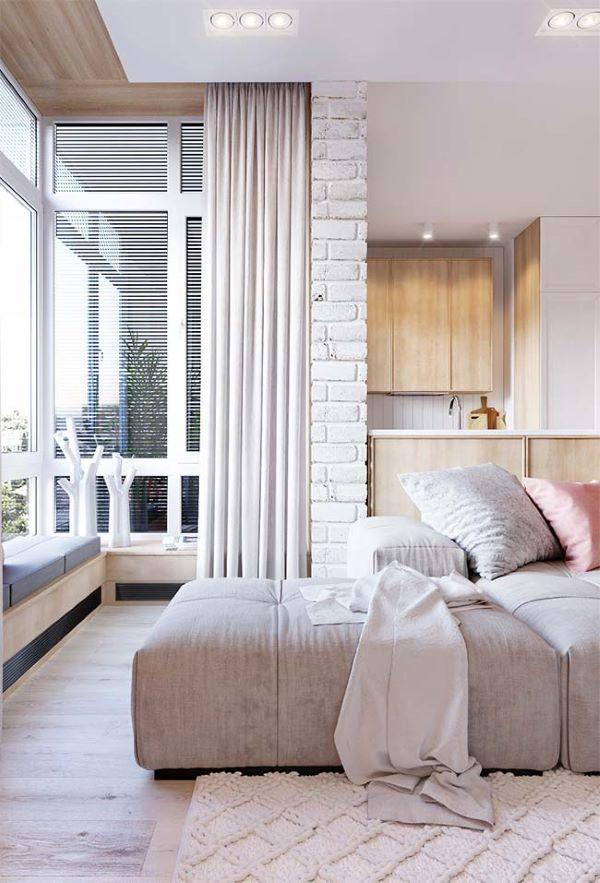 Decore sua casa com uma linda cortina para cortineiro de gesso