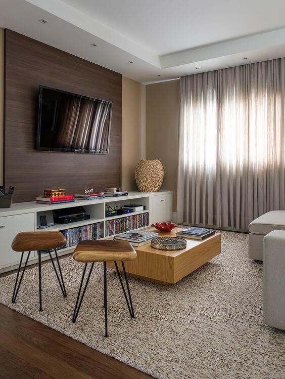 Veja como instalar o cortineiro de gesso na sua sala de estar