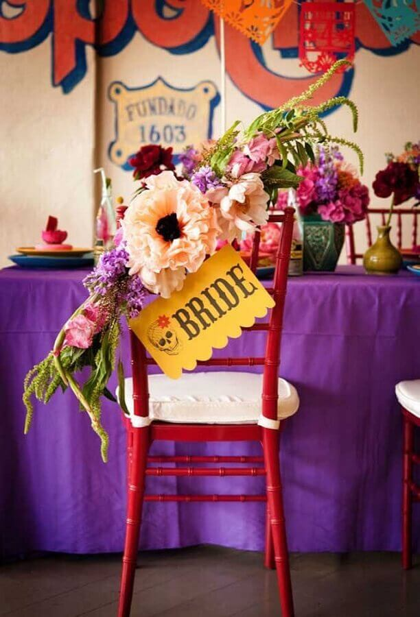 wedding decoration with mexican party theme Photo My Party